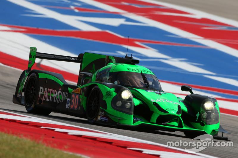 #30 Extreme Speed Motorsports, Ligier JS P2 - Nissan: Scott Sharp, Ed Brown, Johannes van Overbeek