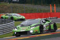 #16 GRT Grasser Racing Team, Lamborghini Huracan GT3: Рольф Ынайхен, Мырко Бортолотты, Йерун Блекемолен