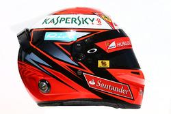 Il casco di Kimi Raikkonen, Ferrari