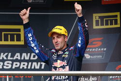 Podium race winner: Jamie Whincup, Triple Eight Race Engineering Holden