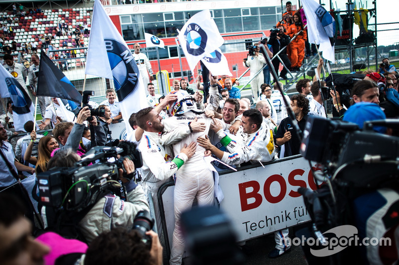 Moscú (Carrera 2): Marco Wittmann, BMW Team RMG, BMW M4 DTM