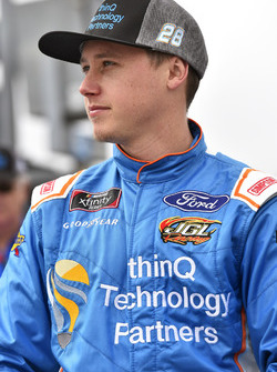 Dylan Lupton, JGL Racing, thinQ Technology Partners Ford Mustang