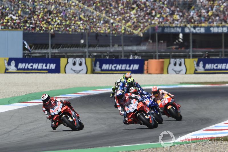 Хорхе Лоренсо, Ducati Team, Андреа Довіціозо, Ducati Team