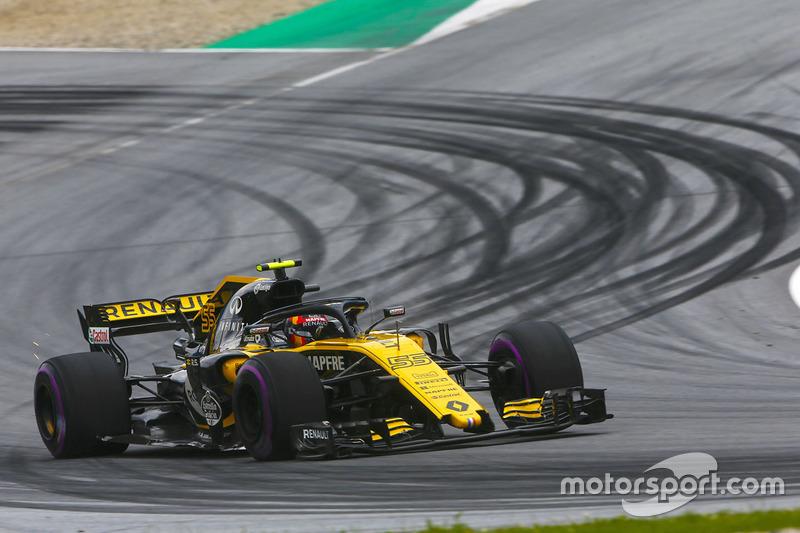 10. Карлос Сайнс, Renault Sport F1 Team R.S. 18 — 28