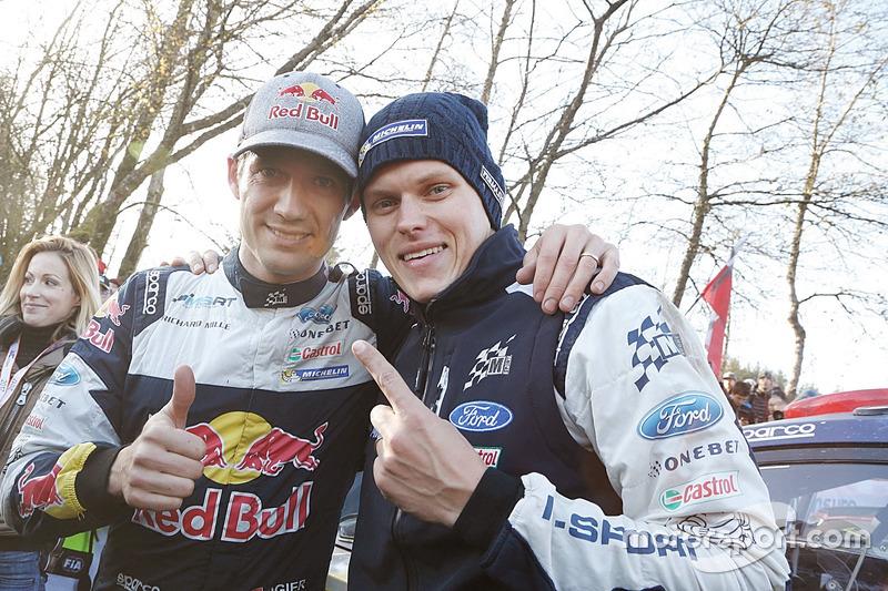 Sébastien Ogier, M-Sport and Ott Tänak, M-Sport
