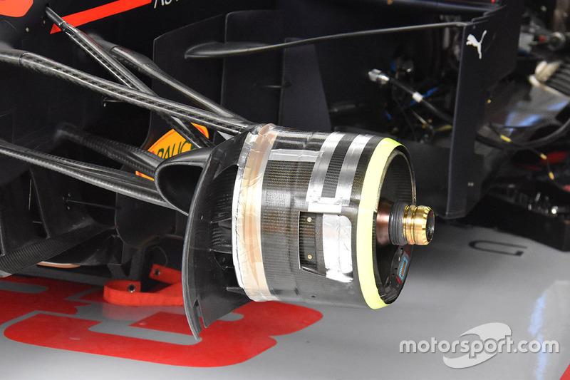 Передні гальма Red Bull Racing RB14