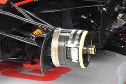 Red Bull Racing RB14 front brake detail