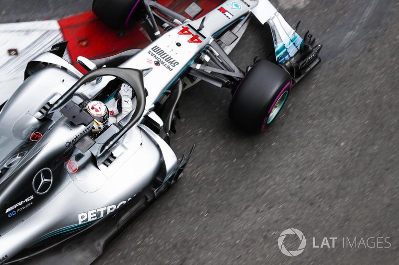 Vice-líder do campeonato, Lewis Hamilton ficou em quinto, logo atrás de Bottas