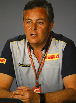 Mario Isola, Racing Manager, Pirelli Motorsport, in una conferenza stampa