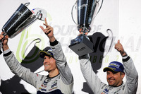 Podium GTE Pro: winners Andy Priaulx, Harry Tincknell, Ford Chip Ganassi Racing