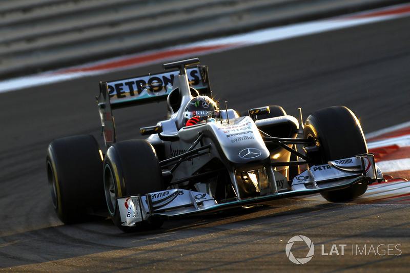 2010: Michael Schumacher, Mercedes GP MGP W01