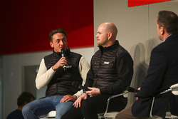 Bobby Thompson from the Team Hard BTCC team talks to Henry Hope-Frost on the Autosport Stage