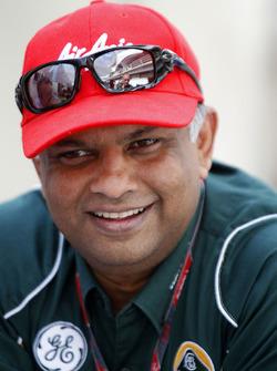 Tony Fernandes, director de Team Lotus