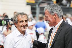 Советник Renault Sport F1 Team Ален Прост и Чейз Кэри