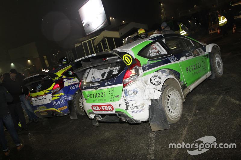 Le Ford Fiesta WRC di Tobia Cavallini e Federico Della Casa