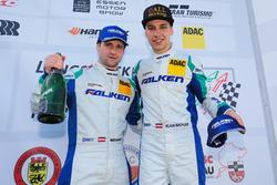 Podium: #4 Falken Motorsport Porsche GT3-R: Klaus Bachler, Martin Ragginger