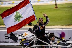 Mansour Chebli and Karl Massad of Team Lebanon