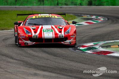 Ferrari, test a Monza