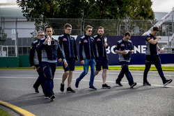 Trackwalk: Daniil Kvyat, Scuderia Toro Rosso