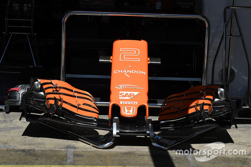 McLaren MCL32 nariz y ala delantera