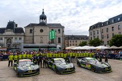 #95 Aston Martin Racing Aston Martin Vantage: Nicki Thiim, Marco Sorensen, Richie Stanaway, #97 Asto