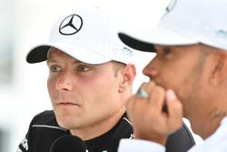 Lewis Hamilton, Mercedes AMG F1 and Valtteri Bottas, Mercedes AMG F1