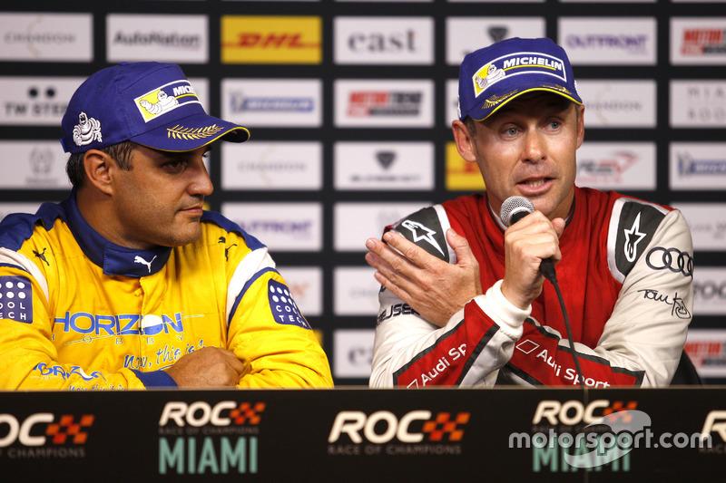 Rueda de prensa: Juan Pablo Montoya y Tom Kristensen