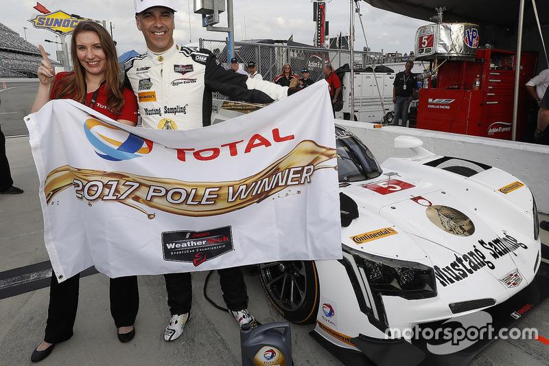 Pole P voor Joao Barbosa, Action Express Racing