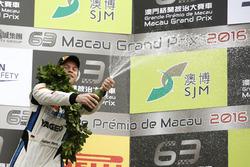 Podium GT-Cup: Fabian Plentz, Team HCB-Rutronik-Racing Audi R8 LMS