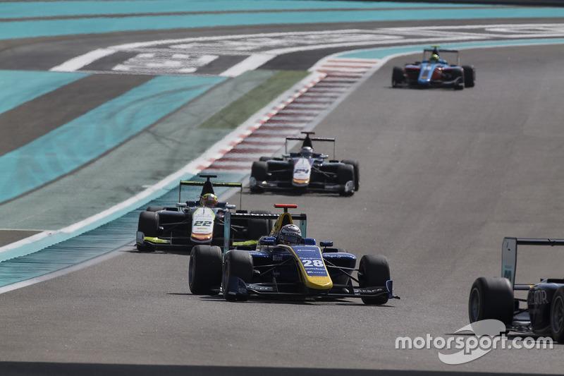 Kevin Joerg, DAMS y Alex Palou, Campos Racing