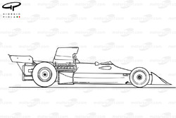 BRM P160E 1973 side view