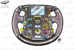 Ferrari F2003 steering wheel