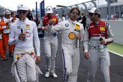 Marco Wittmann, BMW Team RMG, BMW M4 DTM; Augusto Farfus, BMW Team RMG, BMW M4 DTM; Mike Rockenfelle