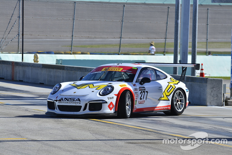 #277 MP1A Porsche GT3 Cup driven by Vinicius Margiota of BRT