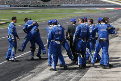 Siegerjubel: Crew von Jimmie Johnson, Hendrick Motorsports, Chevrolet