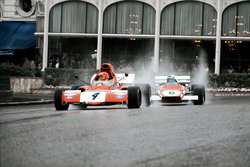 Niki Lauda, March 721X Ford; Jacky Ickx, Ferrari 312B2