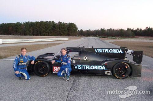 Презентация автомобиля Riley-Gibson команды VisitFlorida.com Racing