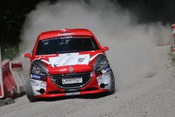 Nicolas Lathion, Gaëtan Lathion, Peugeot 208 R2, Lathion Rallye Team