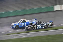 Johnny Sauter, GMS Racing Chevrolet, Parker Kligerman, Henderson Motorsports Toyota
