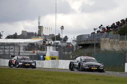 Robert Wickens, Mercedes-AMG Team HWA, Mercedes-AMG C63 DTM, Marco Wittmann, BMW Team RMG, BMW M4 DT