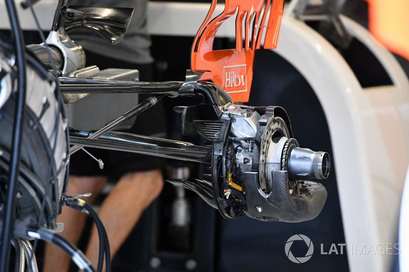 McLaren MCL32: Hinterradaufhängung