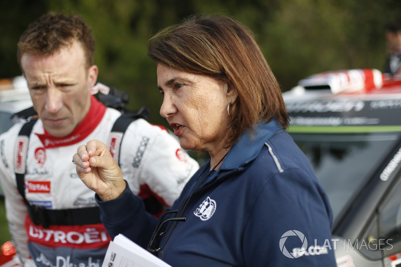 Kris Meeke, Citroën World Rally Team and Michelle Mouton