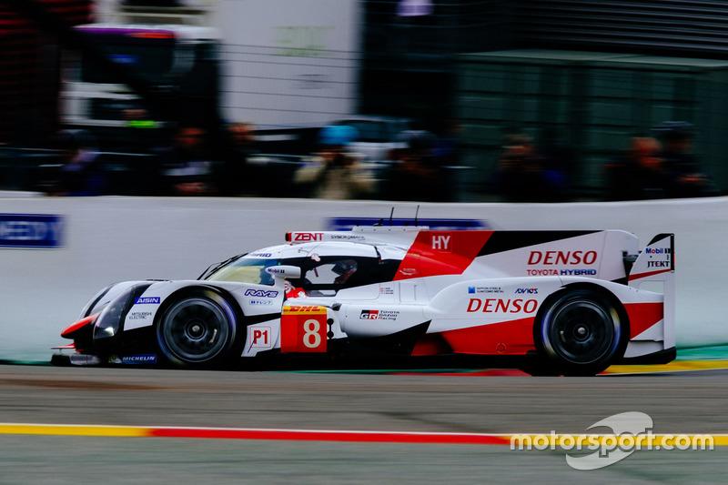 1. LMP1: #8 Toyota Gazoo Racing, Toyota TS050 Hybrid