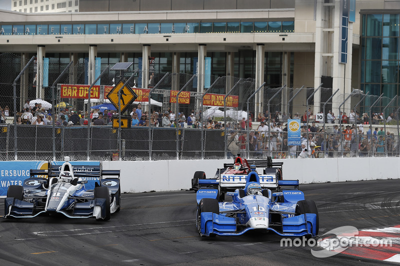 Max Chilton, Chip Ganassi Racing Honda, Tony Kanaan, Chip Ganassi Racing Honda