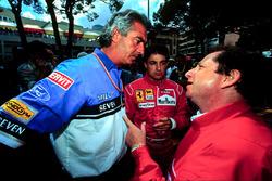 Флавио Бриаторе, Benetton, Жан Тодт и Жан Алези, Ferrari