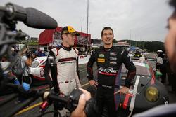 GTD primer lugar Patrick Lindsey, Jörg Bergmeister, Park Place Motorsports