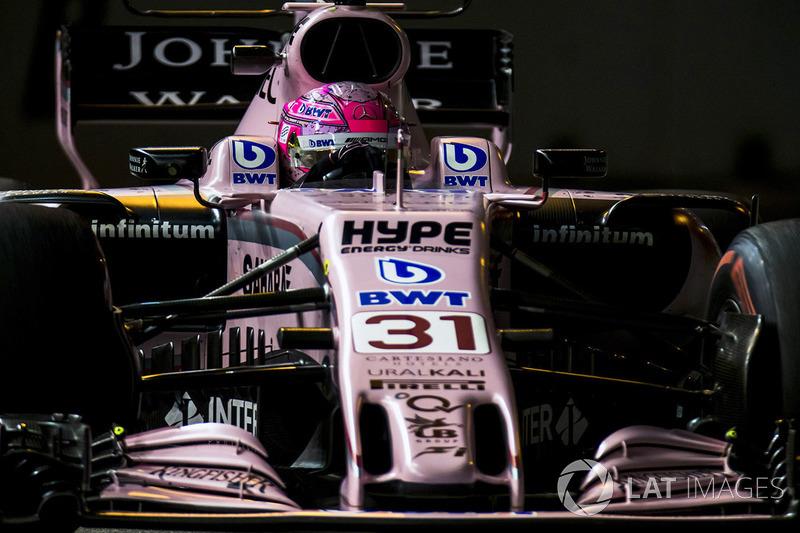 10. Esteban Ocon, Sahara Force India F1 VJM10