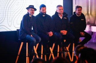 Fisher Stevens, Artistic Director of Extreme E, David De Rothschild, Chief Explorer, Extreme E with Gil De Ferran, CEO of Extreme E and Alejandro Agag, CEO, Formula E