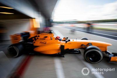 Test del McLaren Autosport BRDC Award
