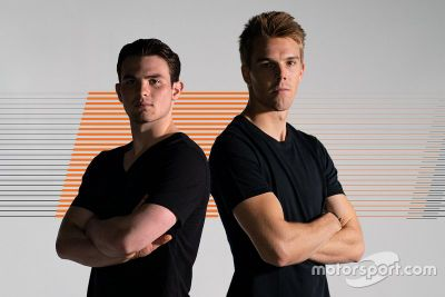 Anúncio de pilotos da Arrow McLaren SP